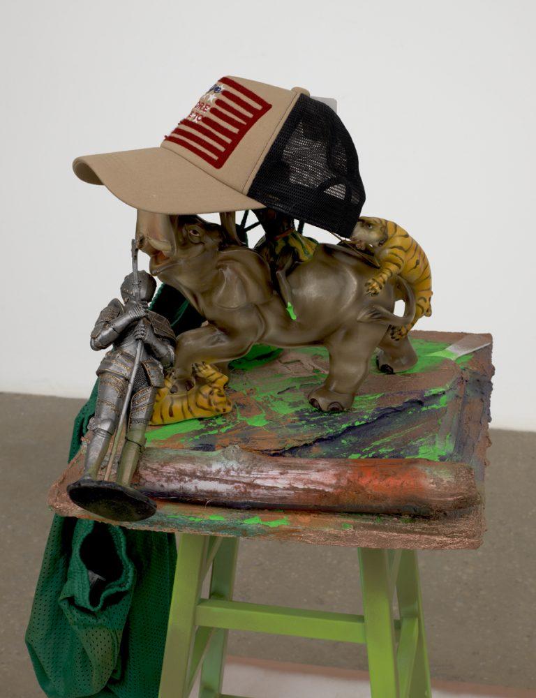 Photograph 5 from Rachel Harrison & Carol Rama exhibition.