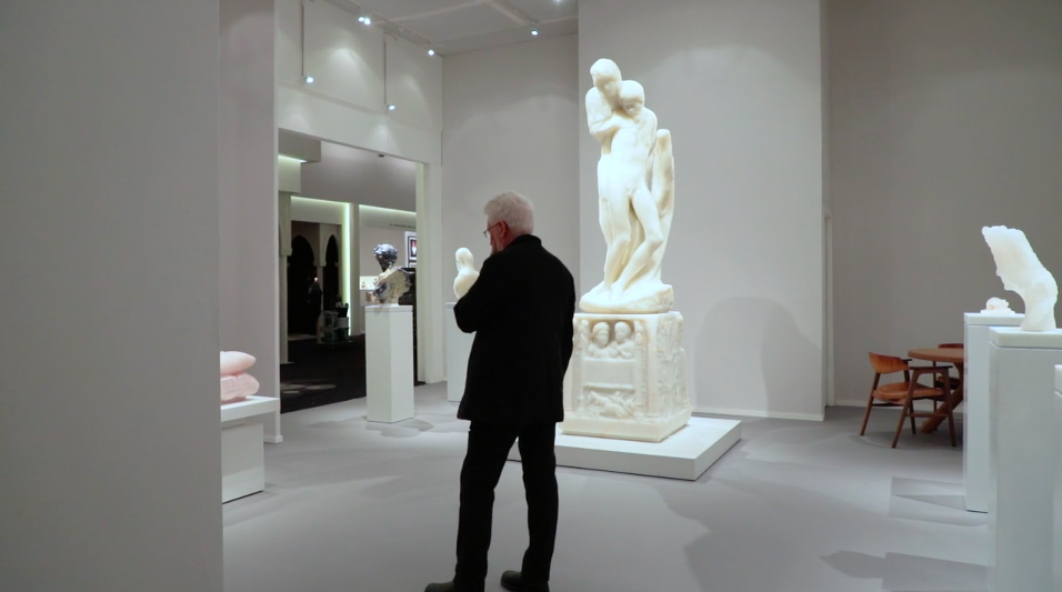 Video Thumbnail: Fergus McCaffrey | Barry X Ball at TEFAF Maastricht