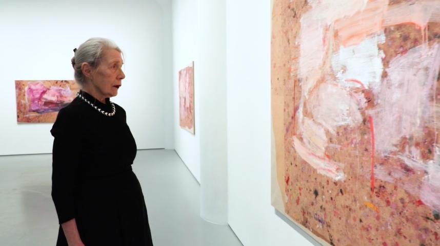 Video Thumbnail: Fergus McCaffrey | Martha Jungwirth at Fergus McCaffrey, Tokyo