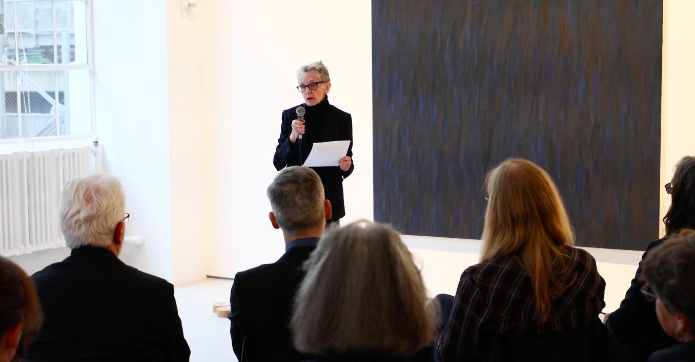 Video Thumbnail: Fergus McCaffrey | Susan Howe Reading Marcia Hafif's Last Letter