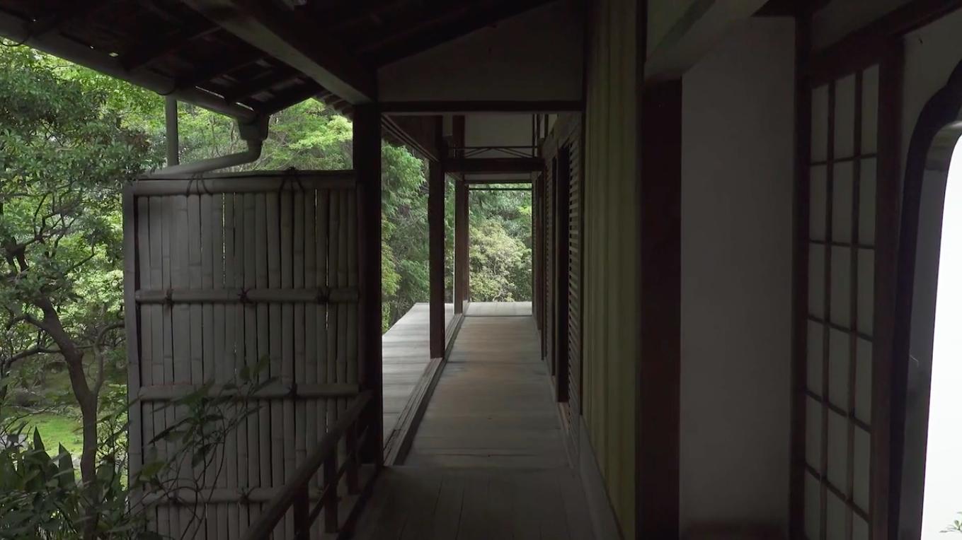Video Thumbnail: Video: Richard Serra discusses Miyoshinji, Kyoto (Chinese)