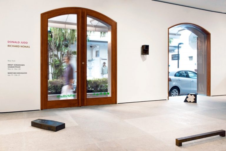 Photograph 2 from Richard Nonas / Donald Judd exhibition.